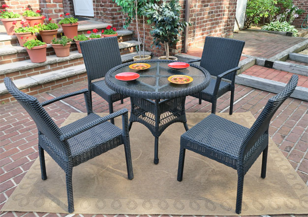 Dining Sets with Caribbean Chairs