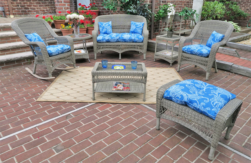 Driftwood Bel Aire Outdoor Wicker Patio Furniture