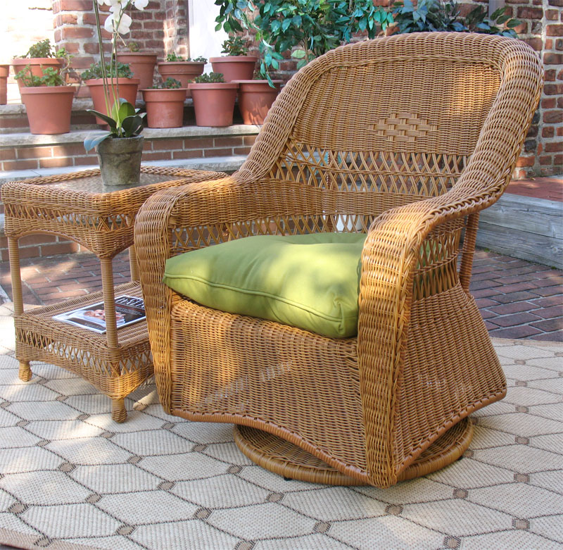 Resin Wicker Glider Chairs U0026 Love Seats