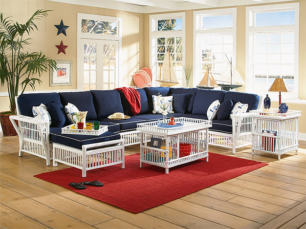 Capistrano Rattan Modular Sectional Collections
