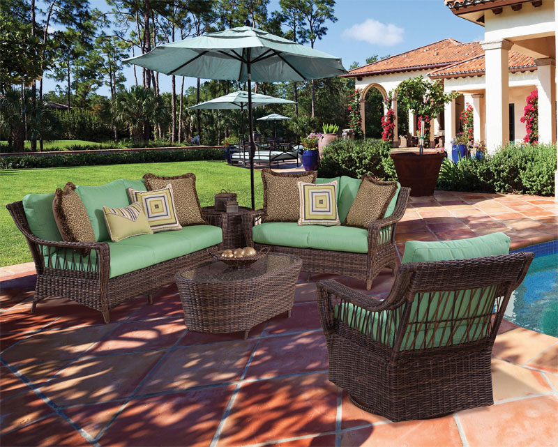 Cappuccino Coral Reef All Weather Wicker Seating