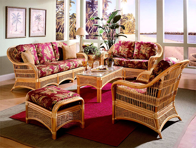 Cinnamon Fiji Rattan Sofa and Dining Sets