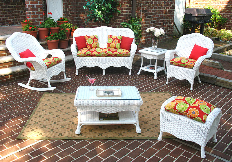 White Naples Seating