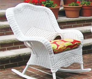 rattan glider chairs rocking chairs