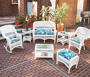 Mid Size Wicker Patio Furniture