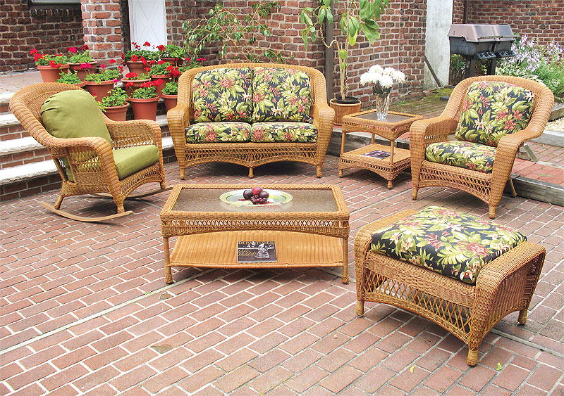 Golden Honey Palm Springs Sofa and Loveseat Collections