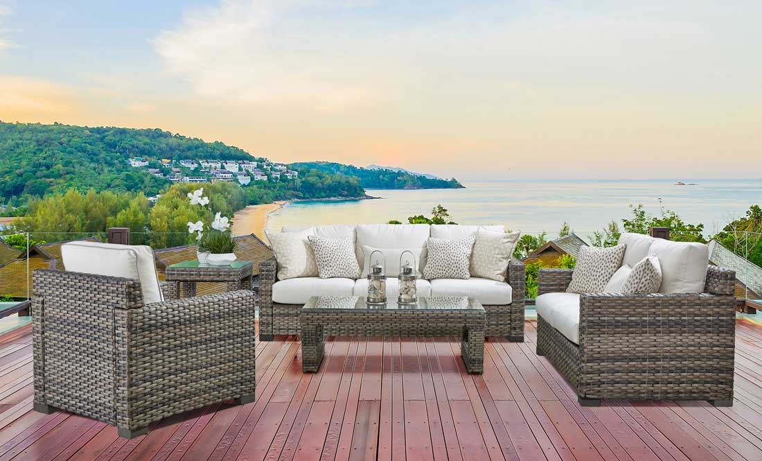 Wicker Biscayne Bay All Weather Resin Wicker Furniture Sets