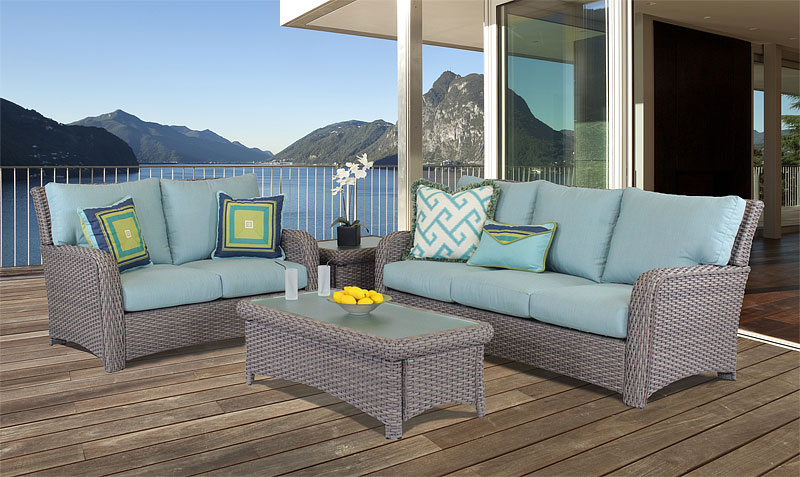 Stone St. Croix All Weather Wicker Seating and Dining Collections