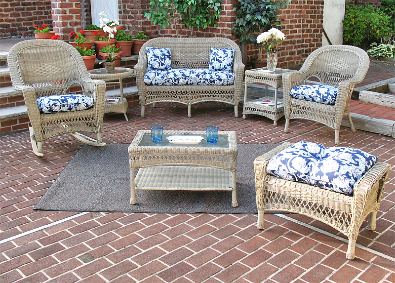 Driftwood Tropical Breeze Outdoor Wicker Patio Furniture