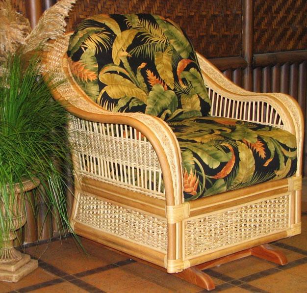 Rattan Glider Chairs