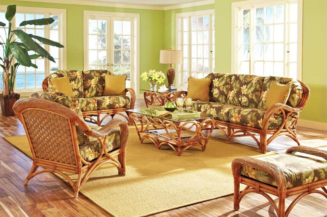 Java Twist Rattan Furniture Sets