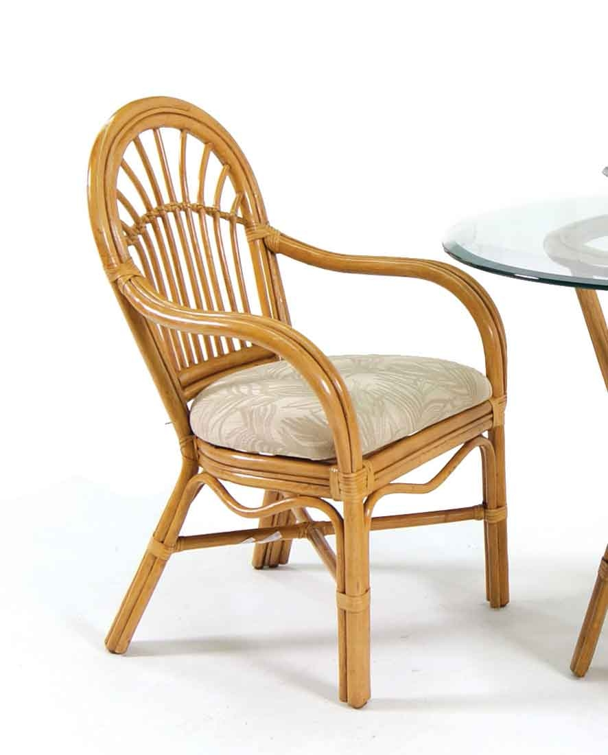 Antigua rattan dining arm chair mini 2 299 each for Antigua wicker chaise