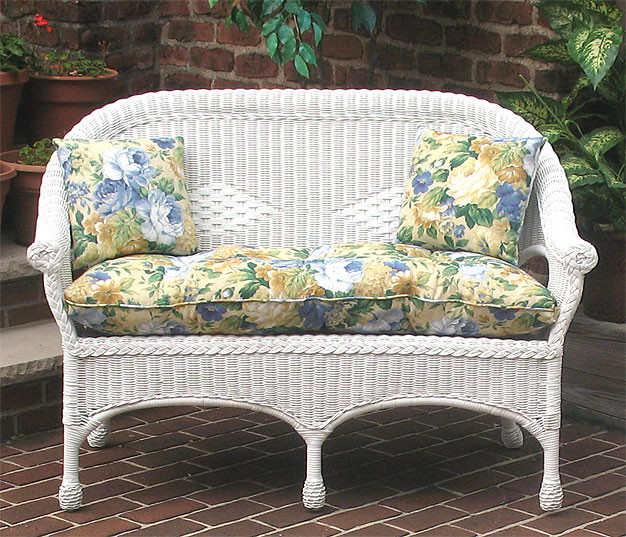 indoor outdoor replacement loveseat cushion. Black Bedroom Furniture Sets. Home Design Ideas