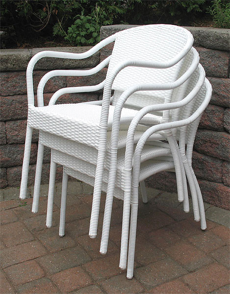 Resin Wicker Bistro Chair Min 2