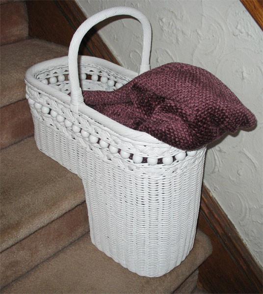 Beaded Step Basket