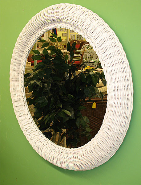 30 Quot Extra Large Round Wicker Mirror