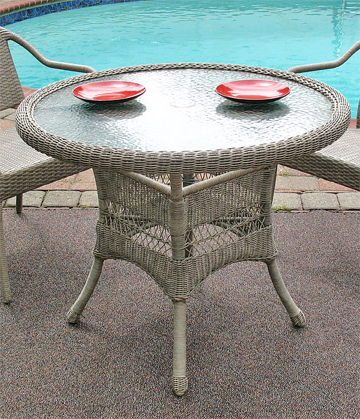 Resin Wicker Dining Table 36 Quot Round