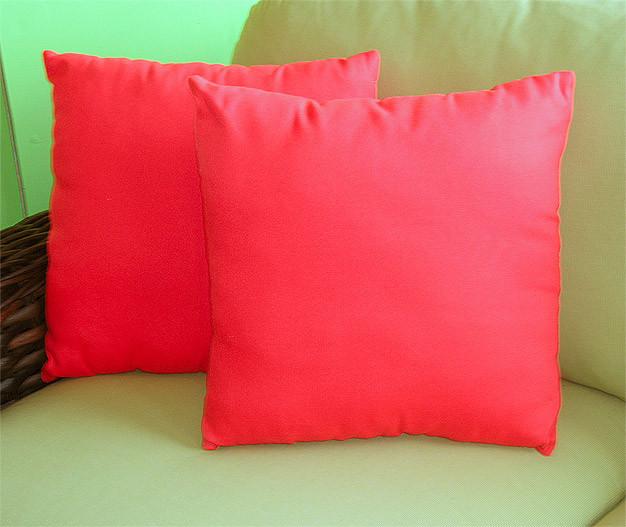 ... Sunbrella Set Of 2  15 Indoor/Outdoor Throw Pillows   Sunbrella Set Of 2