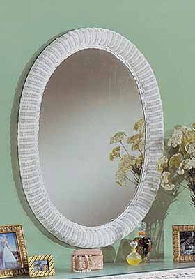Extra Large Oval Wicker Mirror 39 Quot High
