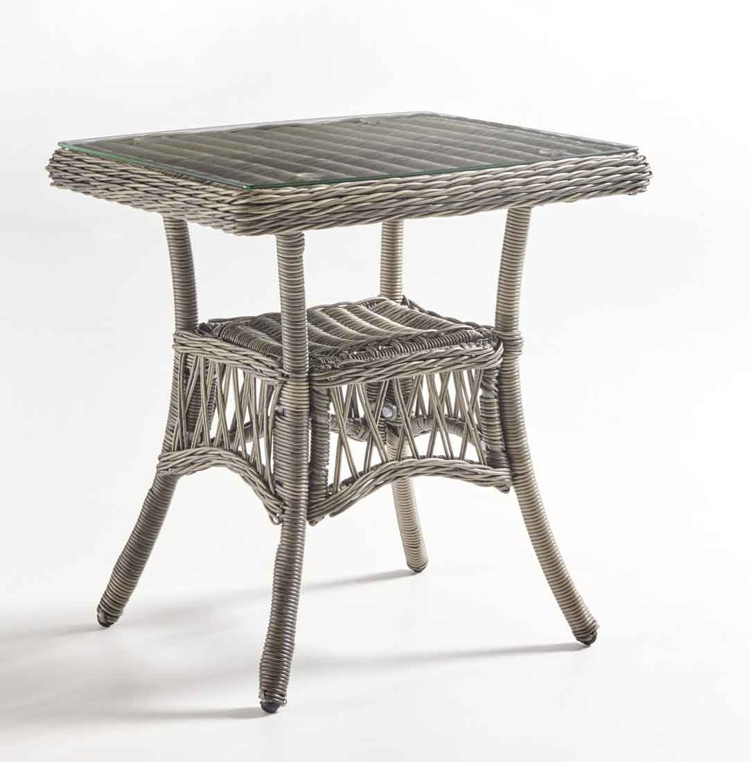 San Carlos Resin Wicker End Table Not Sold Alone