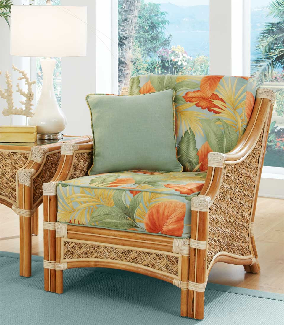 Aloha Rattan Lounge Chair   NATURAL Aloha Rattan Lounge Chair   NATURAL ...