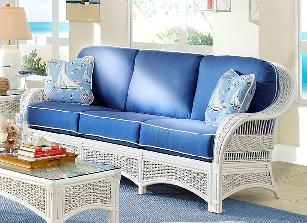 Fiji Indoor Wicker Sofa
