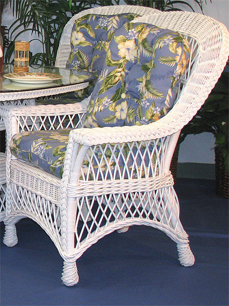 Harbor Beach Dining Arm Chair With Cushions