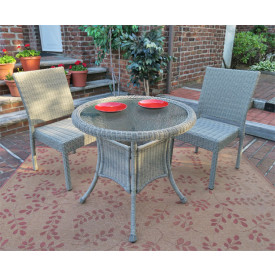 Caribbean 30 Bistro Set (2-Side Chairs)