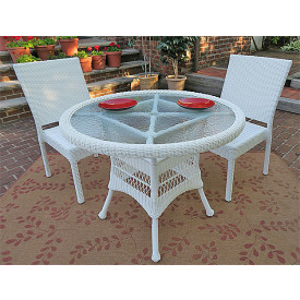 Caribbean 36 Bistro Set (2-Side Chairs)