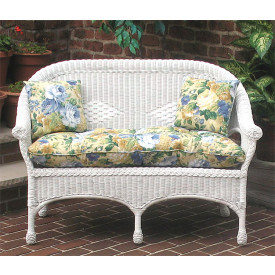 Indoor/Outdoor Replacement Loveseat Cushion (Popular Size)