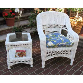 Indoor/Outdoor Belair Replacement Chair/Rocker Cushion Large