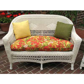 Indoor/Outdoor Belair Replacement Loveseat Cushion (Larger)