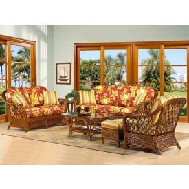 6 Piece Coconut Beach Natural Rattan Furniture Set