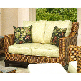 South Beach Rattan Love Seat
