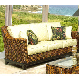 South Beach Rattan Sofa