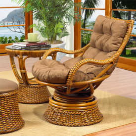 South Beach Swivel Rocker With Cushions