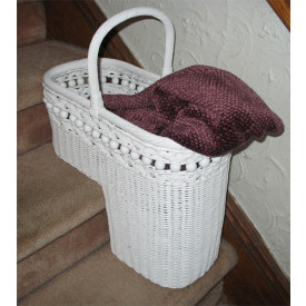 Beaded Step Basket