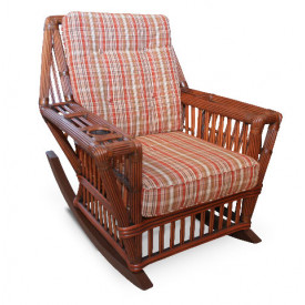 Capistrano Natural Rattan Rocking Chair
