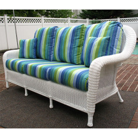 Laguna Beach Resin Wicker Sofa