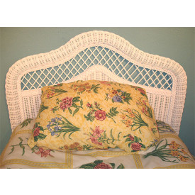 Pavilion Twin  X-Top Wicker Headboard