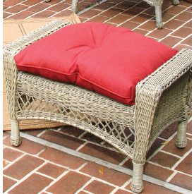 Sunbrella Indoor/Outdoor Belaire Ottoman Replacement Cushion