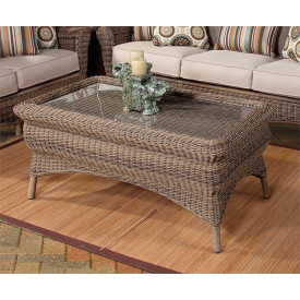 Outdoor Wicker CoffeeTables Cocktail Tables End Tables - Outdoor rectangular coffee table cover