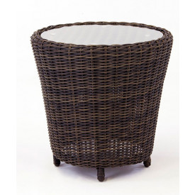 Coral Reef All Weather ResinWicker End Table