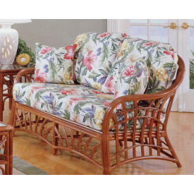 New Kauai Rattan Loveseat