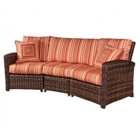 South Sea Rattan (3) Piece Huntington Sofa
