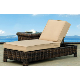 St. Croix All Weather Adjustable Back Chaise Lounge