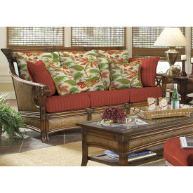 Saint Helena Natural Rattan Sofa