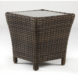 San Remo All Weather Wicker End Table