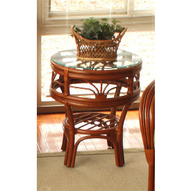 Tahiti Natural Rattan Round End Table