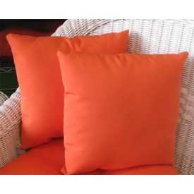 Sunbrella Set of 2- 12 Indoor/Outdoor Throw Pillows